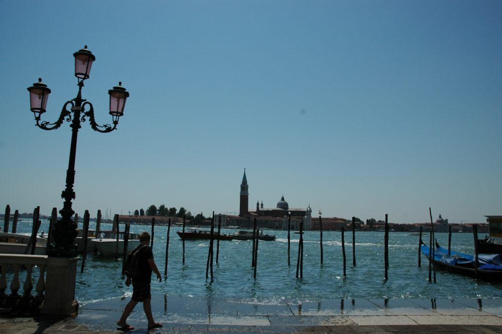 ヴェネツィア、サンマルコ広場。船着き場。イタリア世界遺産