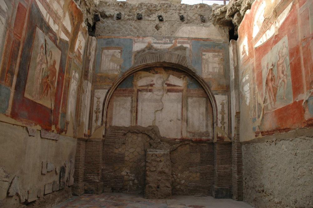 世界遺産•エルコラーノ遺跡