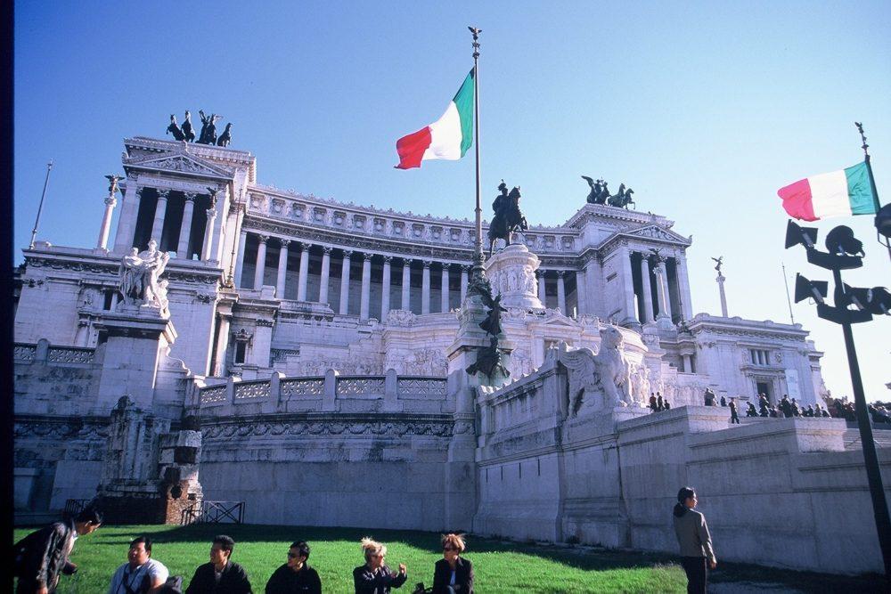 イタリア世界遺産ローマ、ピアッツァ・ヴェネツィア