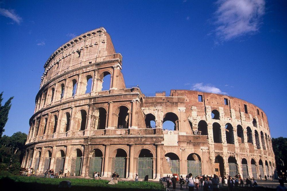 コロッセオ、コロッシアム、イタリア世界遺産・ローマ歴史地区