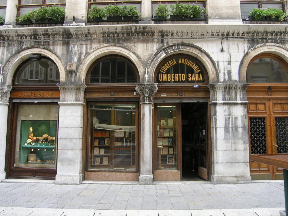 トリエステ、、ウンベルト・サーバ書店
