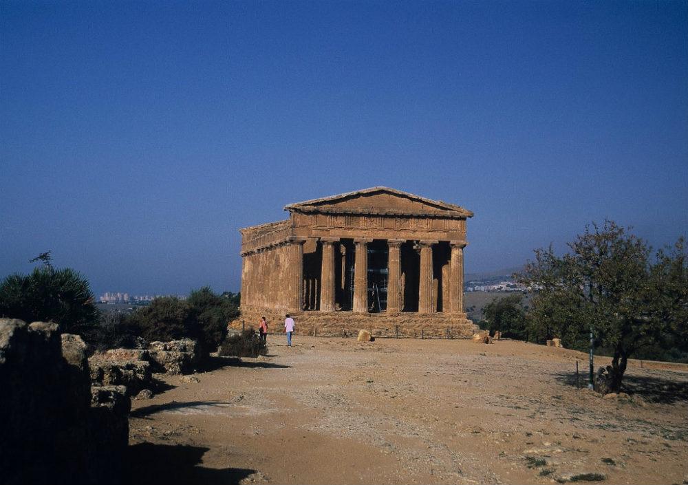 イタリアシチリア島、アグリジェント、コンコルディア神殿