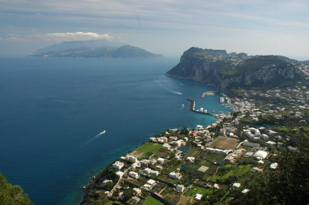 イタリアカプリ島ヴィラサンミケーレ