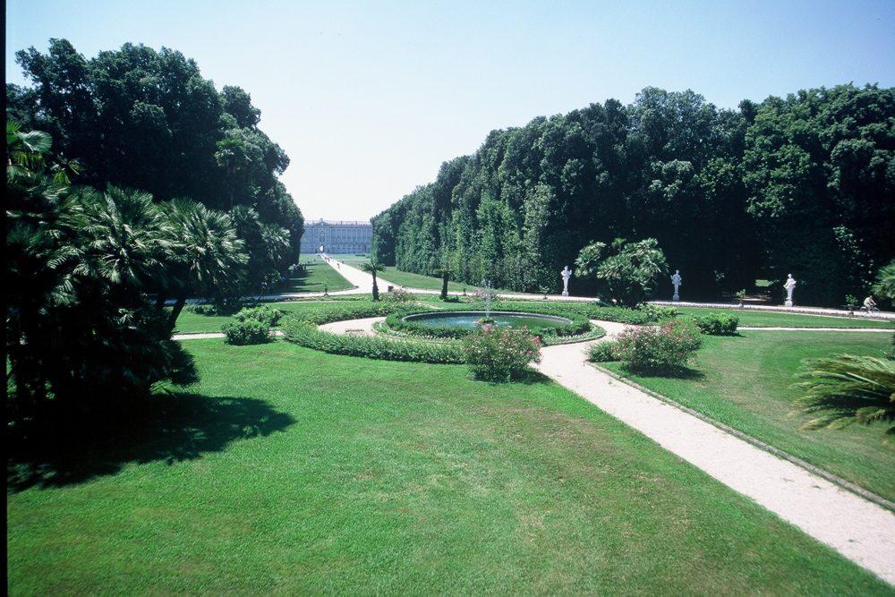 イタリア世界遺産カゼルタ王宮庭園