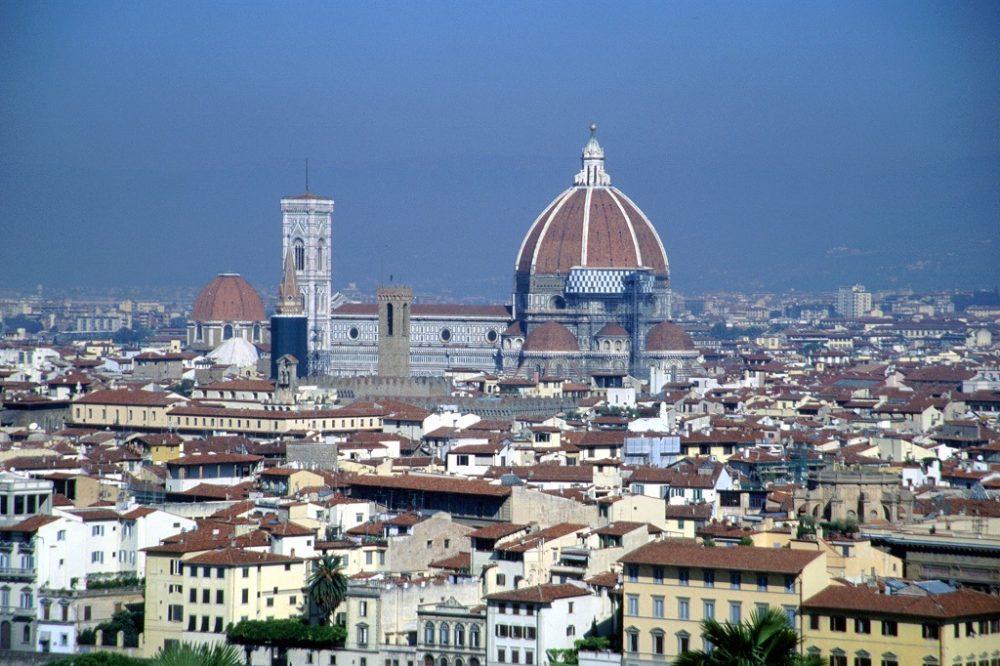 イタリア世界遺産・フィレンツェ、サンタマリアデルフィオーレ大聖堂