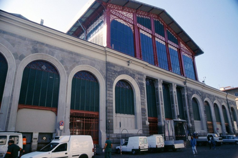 フィレンツェ、中央市場食堂外観