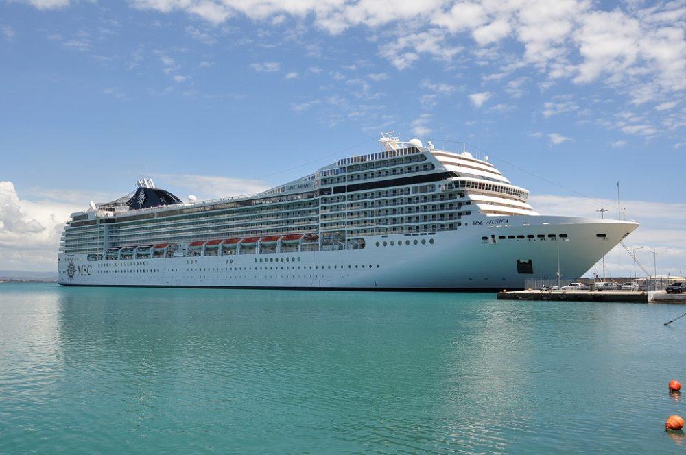 MSCクルーズムジカ、ギリシャ、カタコロン港