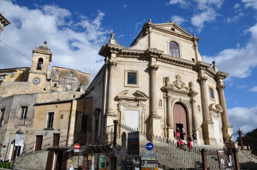 シチリア、ラグーサの世界遺産 プルガトリオ教会