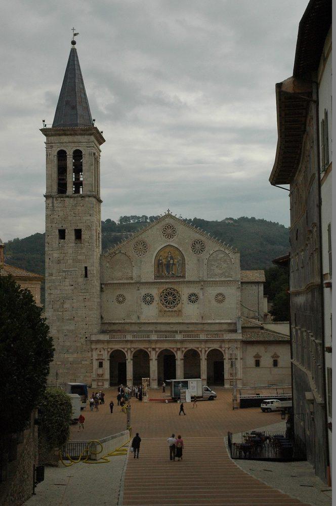 スポレート大聖堂、アッシジと同じウンブリア州ペルージア県にある。時間を取って訪れてみよう。